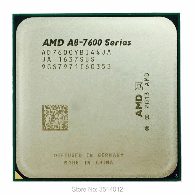 AMD A8 Series A8 7600 A8 7600K A8 7600B 3 1GHz Quad Core CPU Processor AD7600YBI44JA