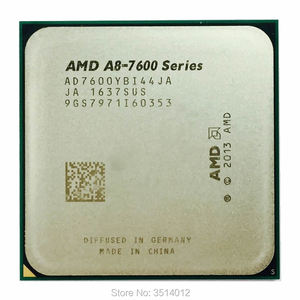 AMD A8-Series A8-7600 A8 7600K A8 7600B 3.1GHz Quad-Core CPU Processor AD7600YBI44JA/AD760BYBI44JA Socket FM2+
