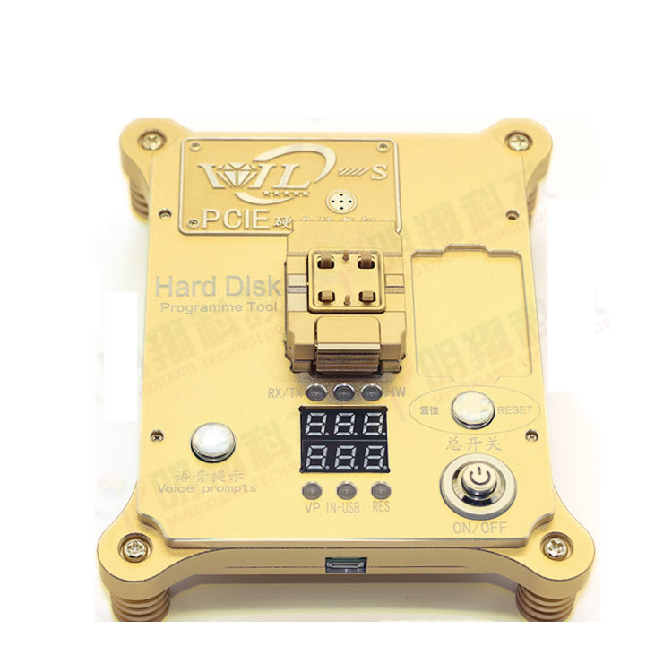 64 Bit IC Chip Programmer 64 hard disk test for iphone hard disk repair instrument for iPhone5s / 6 /6plus for ipad change SN