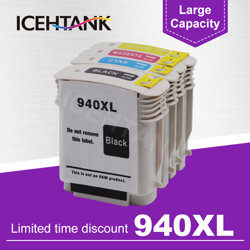 10PK Remanufactured HP 940XL Ink Cartridge for HP Officejet Pro 8000 8500 8500A