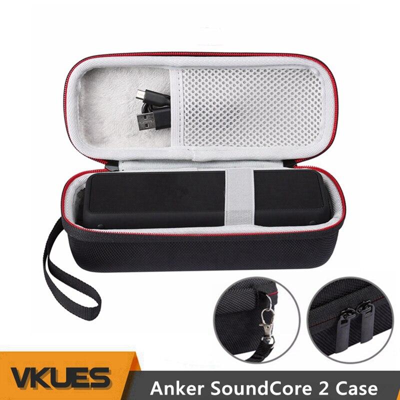 все цены на Portable Soundcore2 Column Protective Case Cover for ANKER SoundCore 2 Wireless Bluetooth Speaker Bag Handbag Carrying Case Box