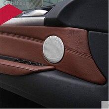 Автомобильная крышка аудио динамика Чехол для BMW 3 4 5 серии GT X3 X4 X5 X6 F10 F11 F18 F07 F30 F31 F32 F33 F34 F35 F36 F25 F26 F15 F16