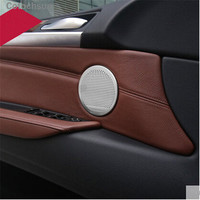 Car Audio speaker Cover case For BMW 3 4 5 series GT X3 X4 X5 X6 F10 F11 F18 F07 F30 F31 F32 F33 F34 F35 F36 F25 F26 F15 F16