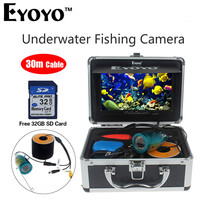 Eyoyo 7 Portable Fish Finder Underwater FishFinder 30M Cable Fishing CAM Digital Video Recorder HD 1000TVL
