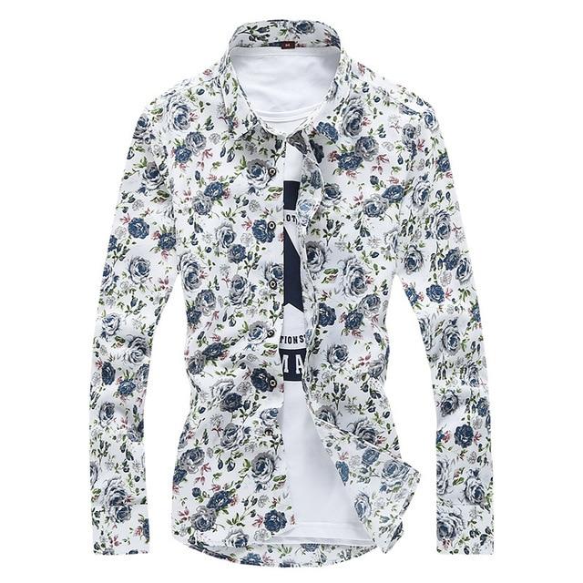 2019 Fashion Shirt Men's Long Sleeve 2018 Autumn day 2