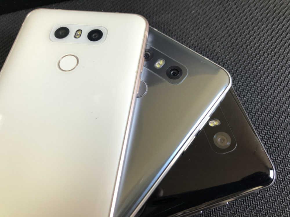 """الأصلي مقفلة LG G6 المزدوج سيم H870DS الروبوت الهاتف المحمول 4 GB RAM 64 GB ROM 4G LTE 5.7"""" 13.0MP بصمة المحمول الذكي"""