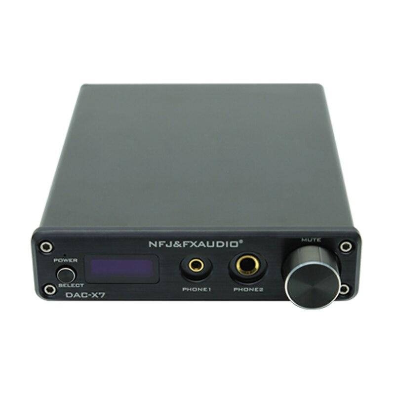 Verlegen Fx-audio Neue Dac-x7 Hifi 2,0 Digital Audio Usb Xmos Decoder 32bit/384 Khz Dsd256 Kopfhörer Verstärker Oled Display Unsicher Selbstbewusst Gehemmt Befangen