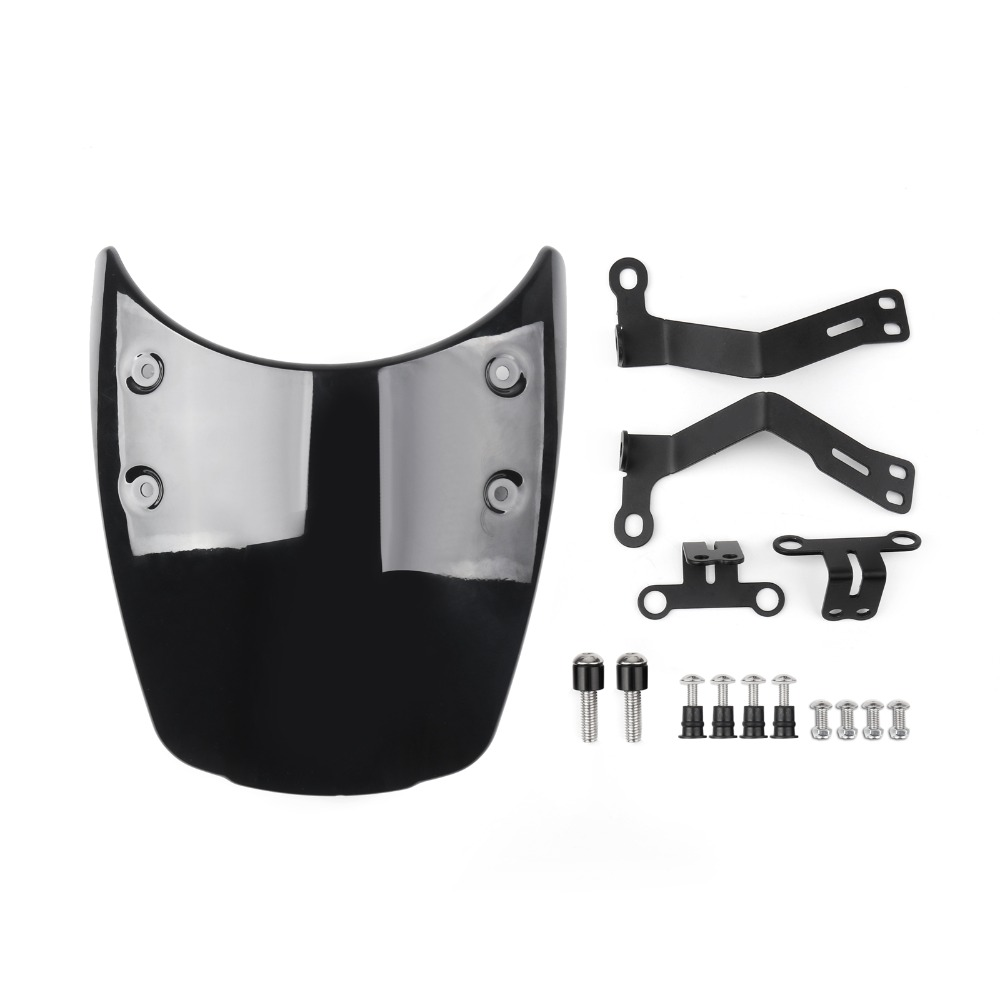 Areyourshop Motorcycle Wind Shield Windshield Windscreen Headlight Fairing For BMW R Nine T 2014-2017 ABS plastic Motor Covers 8 pc polished 5mm windscreen fender washer bolt kit for motorcycle windshield for bmw r1100r