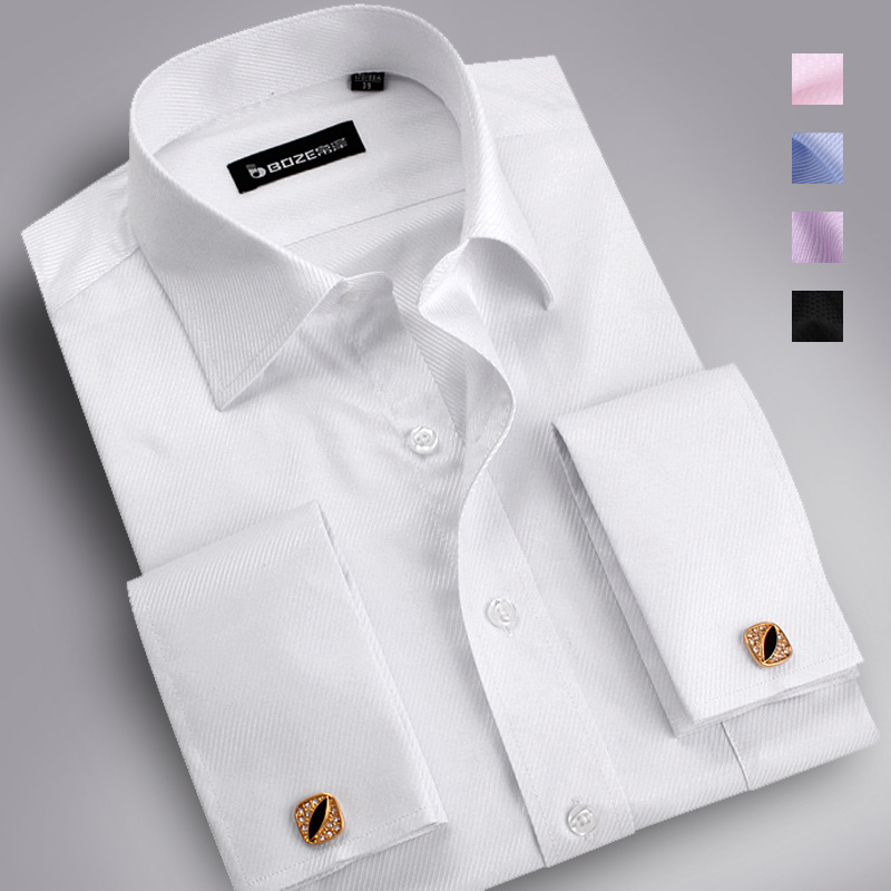 Compare Prices on White Shirt French Cuffs- Online Shopping/Buy ...