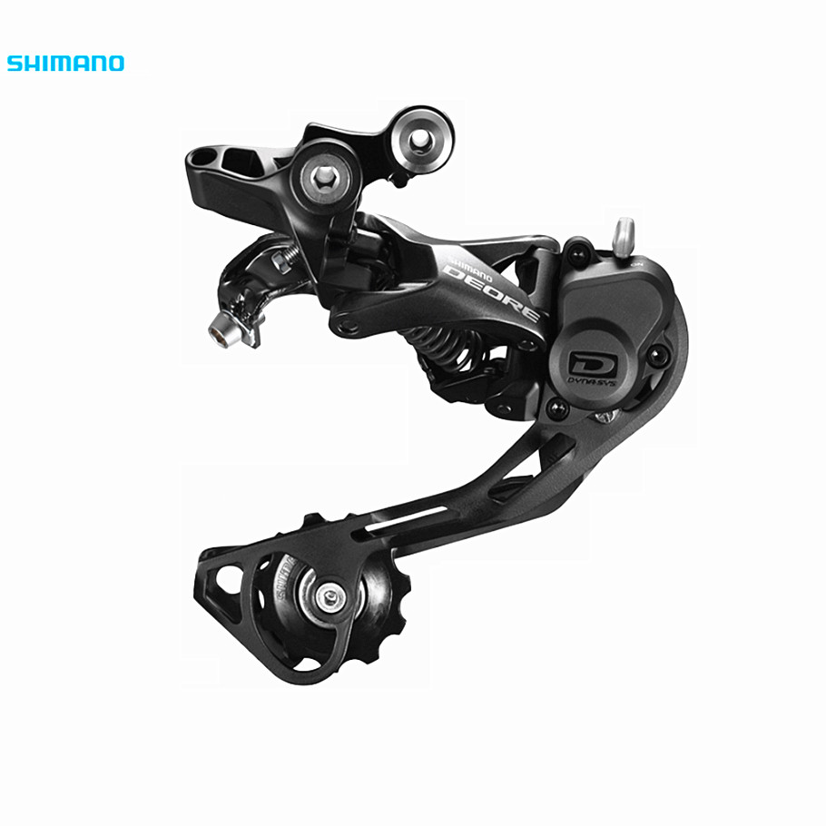 SHIMANO DEORE M6000 SHADOW+ REAR DERAILLEUR 10-SPEED after the transmission for 11-36-42T Shimano after the transfer after the crossing