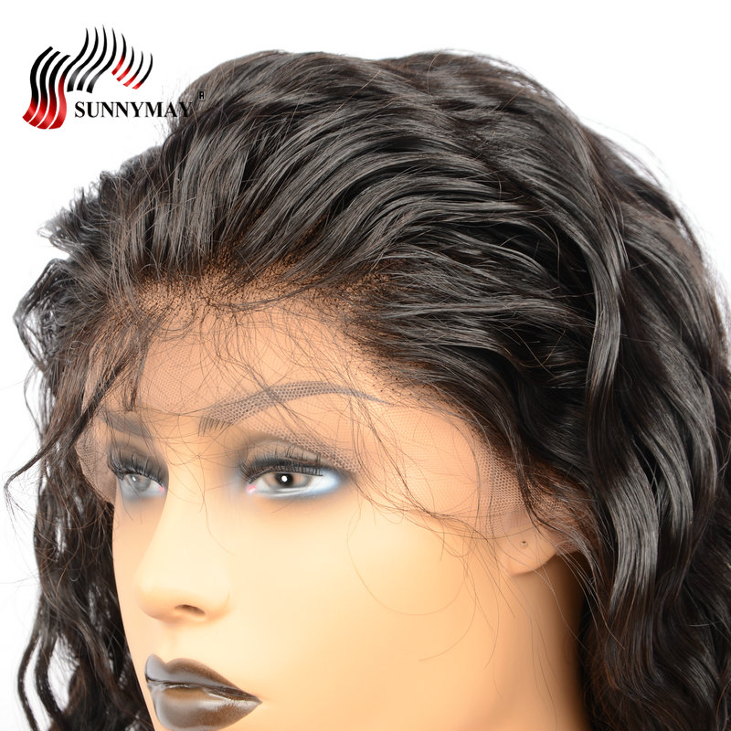 Sunnymay Loose Wave Lace Front Mänskliga Hårperor För Kvinnor Med - Mänskligt hår (svart) - Foto 5