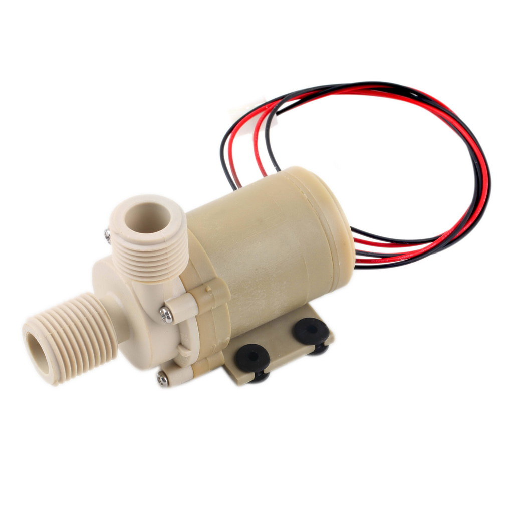 1pcs Free Shipping Solar 12v Dc Hot Water Circulation Pump Brushless Motor Water Pump 5m 3m Sanitär