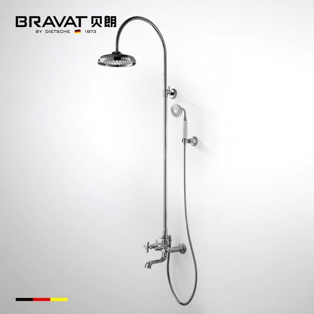 Clawfoot Tub Faucet Water Bath Heaters Body Jet Showers Bath Bronze Shower  Set Bathroom Faucet Bronze