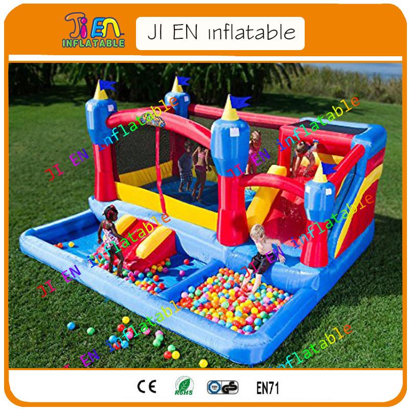 envo libre gorila inflable piscina de bolas para nios equipo del patio castillo
