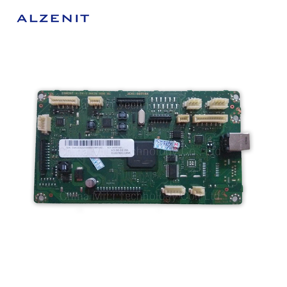 GZLSPART For Samsung 3405 SCX-3405 3405F Original Used Formatter Board Laser Printer Parts On Sale alzenit for samsung clp 310 clp310 clp 310 original used formatter board laser printer parts on sale