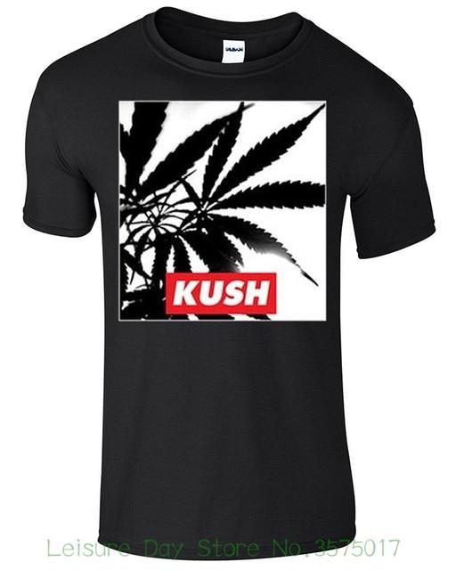 f3c56f5f Tee Shirt Mens 2018 New Tee Shirts Printing Adult Unisex Kush Pot Weed  Smoking Novelty Funny T-shirt