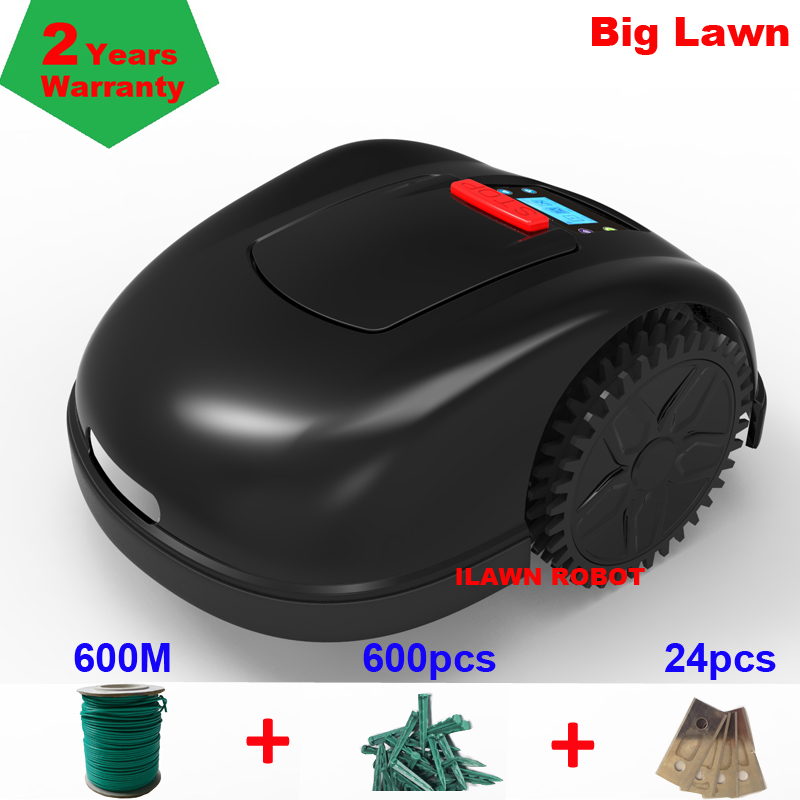 Newest And Best Remote Control Lawn Mower Robot E1600T With Newest Gyroscope Navigation Function