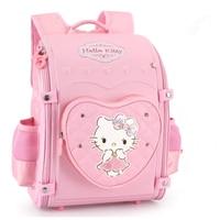 Hello Kitty Backpack kids Bag Schoolbag Orthopedic school Backpacks Children School Bags For girls boys Mochila bolso sac enfant