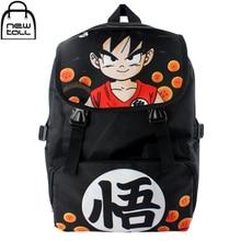 [NEWTALL] 2017 New Anime Dragon Ball Z Son Goku Super Saiyan Backpack School Shoulder Bag Cosplay 16080504