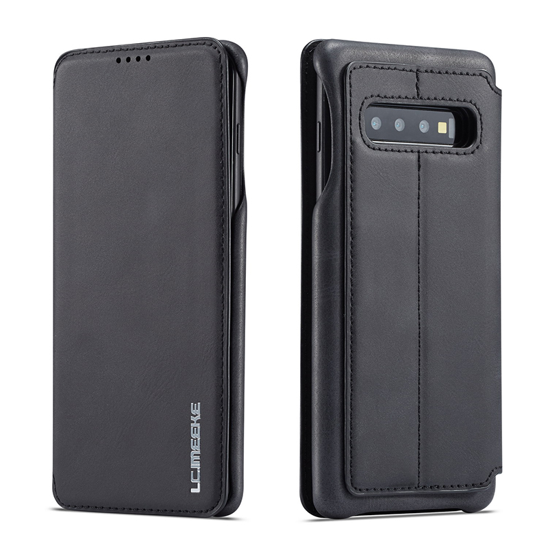 Luxury Leather Case For Samsung S10e S10 S9 S8 Plus Case Magnetic Wallet Cover Phone Cases For Samsung Galaxy S10 Plus Note 9 8
