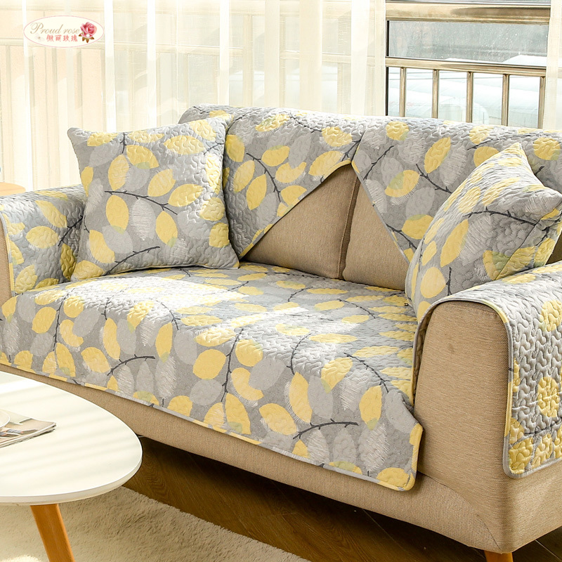 Admirable Us 10 29 30 Off Proud Rose Printed Sofa Cushion Sofa Cover Backrest Towel Pillowcase Yellow Living Room Cotton Non Slip Couch Cover In Sofa Cover Short Links Chair Design For Home Short Linksinfo