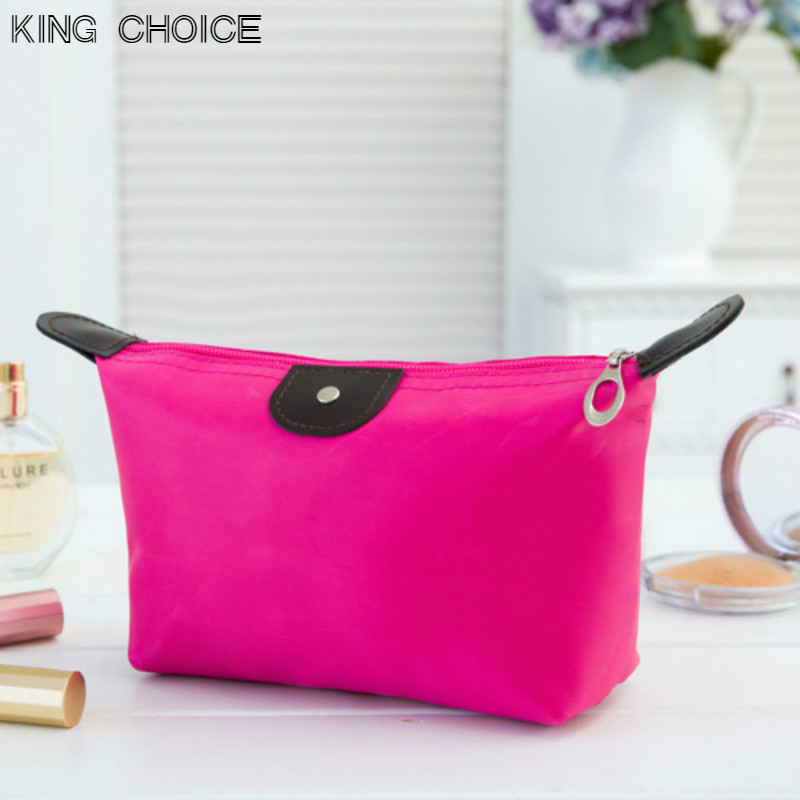 2018 New Travel Zipper Waterproof Cosmetic Bag Makeup Pouch Toiletry Wash Organizer Case Gift High Quality Free Shipping