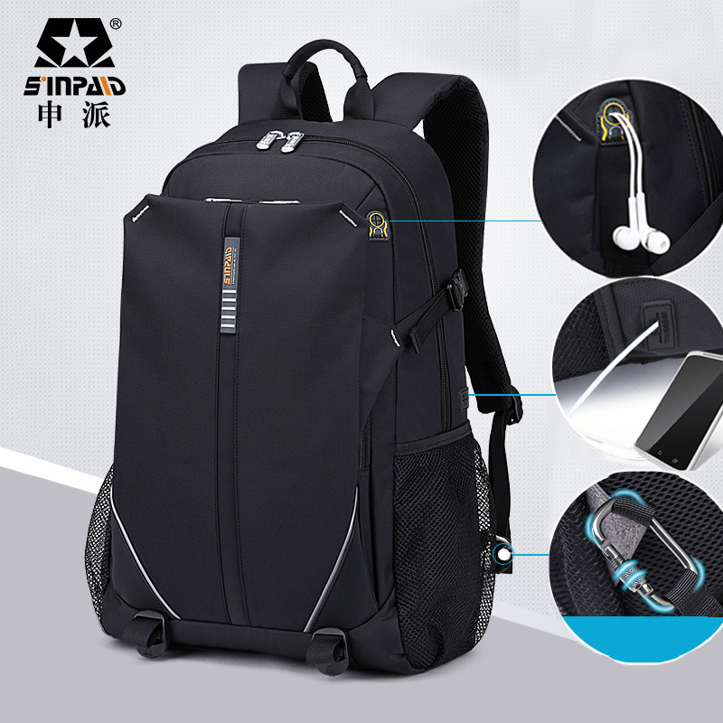 SINPAID 3-Size Backpack Waterproof Men's Back Pack 15.6 Inch Laptop Mochila High Quality Designer Backpacks Male Escolar-FF sinpaid 3 size backpack waterproof men s back pack 15 6 inch laptop mochila high quality designer backpacks male escolar ff