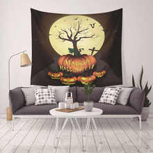 Halloween Mandala Beach Towel Cover Up Tunic Hippie Tapestry Wall Hanging Roomdorm Home Decor Wandkleed halloween lace up tunic hoodie