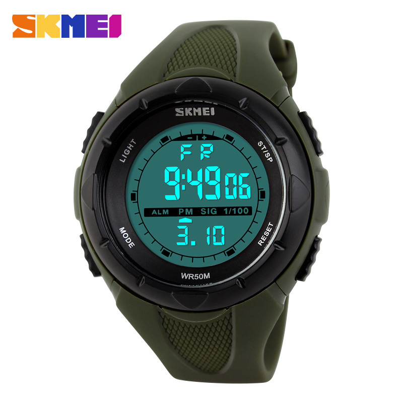 Skmei Womens font b Watches b font Sports Military font b Watch b font LED Digital