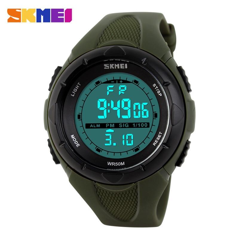 Skmei Womens font b Watches b font Sports Military font b Watch b font LED Digital