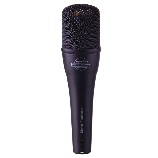 New Superlux PRO238MKII large diaphragm condenser mic professional karaoke Vocal Microphone for recording and stage performance