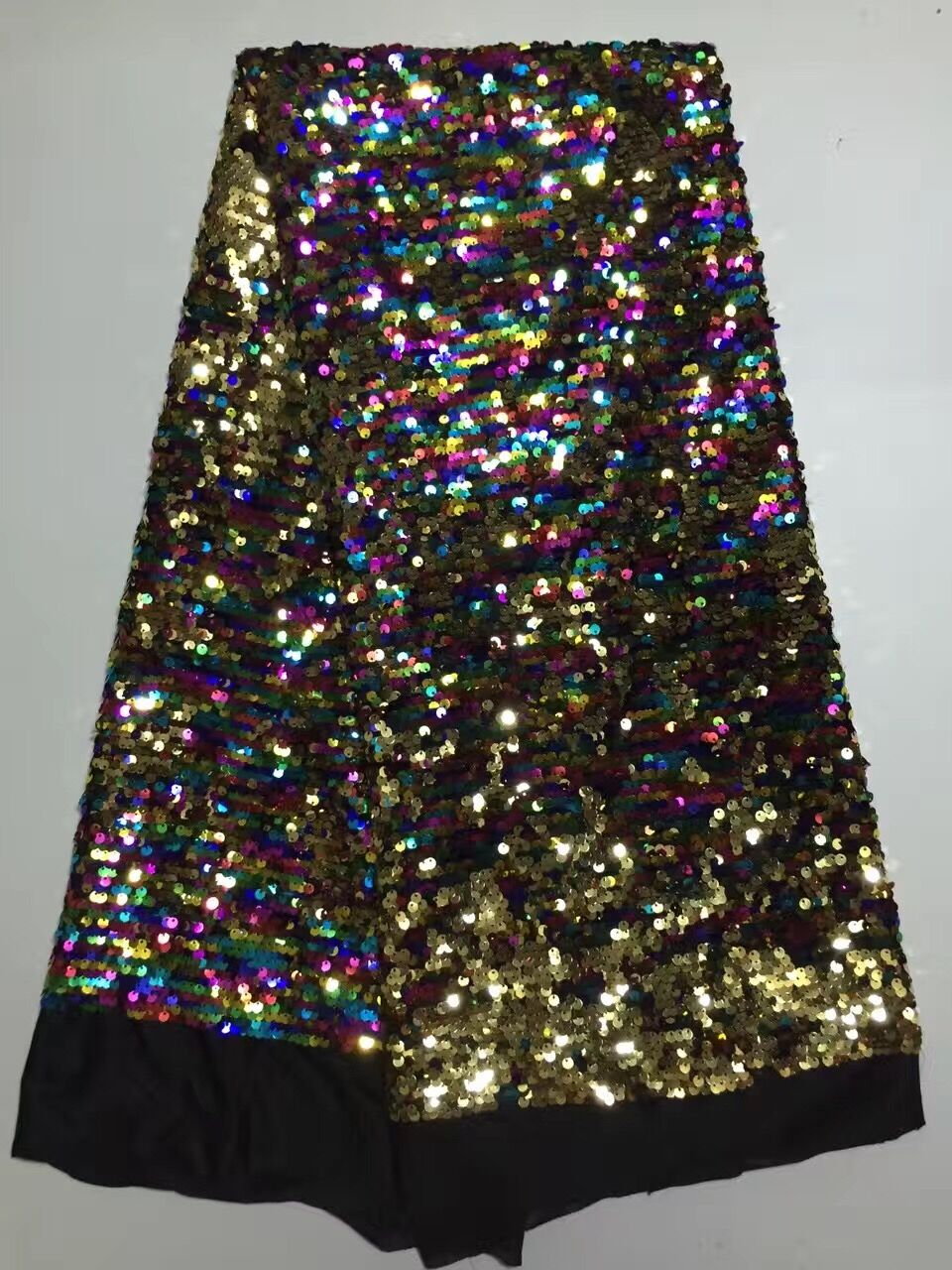 Rosa lentejuelas Z han9233 malla bordado vestido de novia/vestido de noche tela de encaje-in encaje from Hogar y Mascotas    1