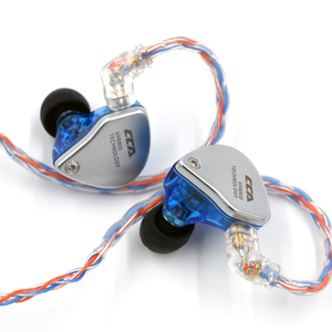Image 5 - CCA C2 MMCX 2PIN turuncu mavi örgülü gümüş kablo 8 çekirdekli yükseltilmiş kaplama kablo kulaklık CCA C10 CA4 AS16 zsn pro ZS10 Pro