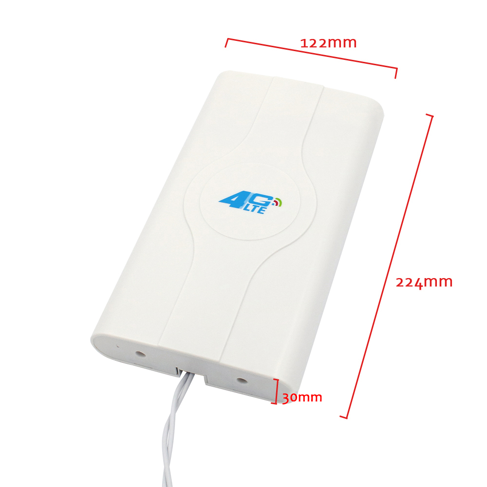 Image 2 - 3G 4G LTE Antenna 4G MIMO antenna TS9 External Panel Antenna CRC9 SMA Connector 2m 700 2600MHz for 3G 4G Huawei router modem-in Communications Antennas from Cellphones & Telecommunications