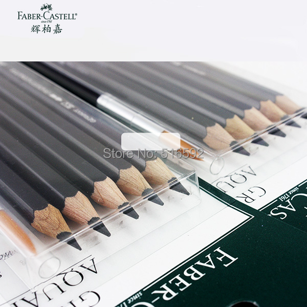 Faber- Castell Artist sketch pencil set, watersoluble graphite pencil, crayon graphite, for classical watercolor painting акустика центрального канала sonus faber homage vox graphite