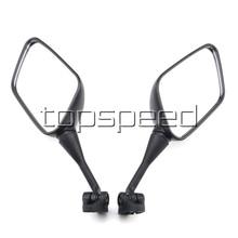 Черные мотоциклетные зеркала заднего вида для Honda CBR600F4 CBR600F4I 1999-2005 2000 2001 2002 2003 2004