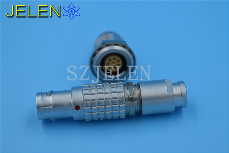 LEMO connector 8pin  FGG.1B.308.CLAD,EGG.1B.308.CLL,9 pin connector,LEMO connector plug socket ,automotive electrical connector lemo 0b connector 9 pin fgg 0b 309 clad egg 0b 309 cll power cable connectors metal round communication connector 9 pin