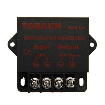 цена на 24V to 12V 5A 60W DC DC Converter Transformer Step Down Buck Module Voltage Reducer Regulator Power Supply for LED TV Car Solar