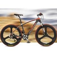 27 Speeds 26 Inches Carbon Fiber Frame Oil Disc Brake Magnesium Alloy Rim Mountain Bike Super