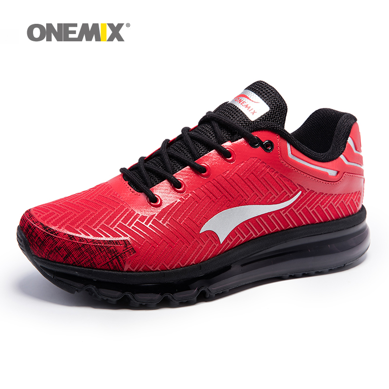 Onemix 2017 new men's running shoes outdoor walking sport shoes light jogging sneakers for adult athletic trekking shoe new women running shoes super air light sport sneakers trainers walking outdoor athletic jogging lover zapatos de mujer