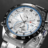 2017 Curren Watches Men Casual Quartz Watch Men S Sports Watch Male Full Steel Waterproof Military