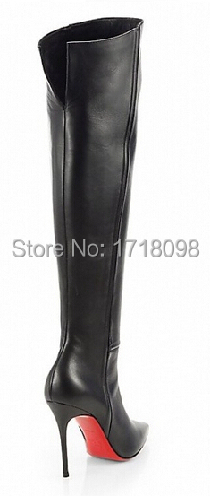 hot sale online ea199 7e6c6 Red Bottom Thigh High Boots - Boot Ri