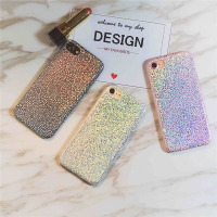 HOT Bling Glitter Soft Pu Leather Skin Case For IPhone 6 6S Plus 7 7plus Slim