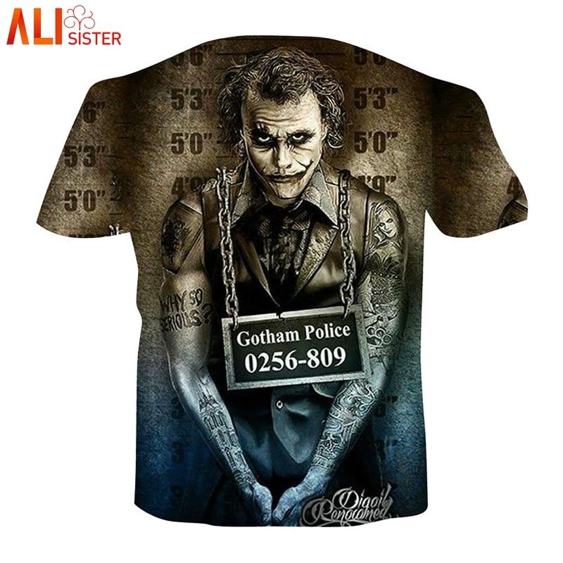 a52540ac87a Alisister 3d Skull T Shirt EUR Plus Size Men Women Joker Skeleton Print Tee  Shirt Summer Hip Hop Brand Clothing Camiseta Hombre-in T-Shirts from Women s  ...