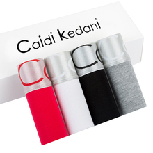Caidi Kedani Underwear Men Boxer Sexy Man Panties Comfortable Underpants Male Boy Soft Undershorts S/M/L/XL CK