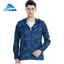 Camo Outdoor Hiking Quick Dry Breathable Sun Protective Jacket Men Anti Uv Wicking Camping Cycling Coat Sport Chaqueta Hombre