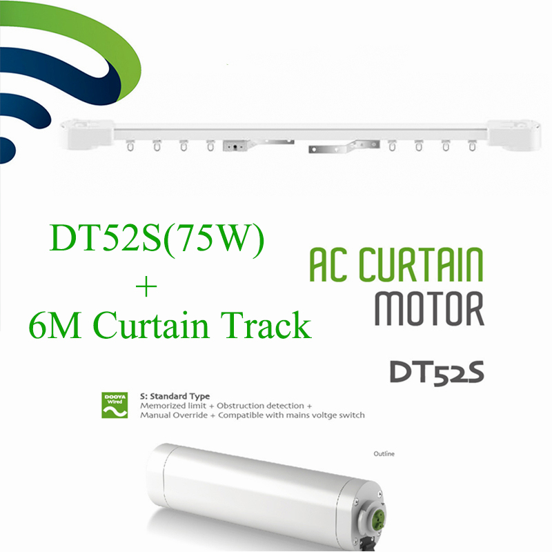 Dooya Dt52s Electric Curtain Motor Open Closing Motorized