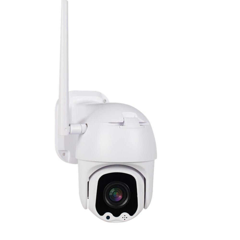 Caméra IP PTZ extérieure SSICON H.265 WIFI 1080P deux voies AUDIO CCTV sécurité vitesse dôme caméras sans fil V380 APP