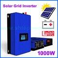 1000 واط MPPT الطاقة الشمسية على محوّل ربط شبكي مع محدد لمرحلة واحدة/3 اتصال تيار مستمر 22-60 فولت المدخلات إلى التيار المتناوب 220 فولت 230 فولت 240 فولت