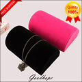 New Fashion Jewelry Display Pillow Stand Holder For Necklace Bracelet Chain Showing Velvet Colar Colliers Support Organizer Ramp